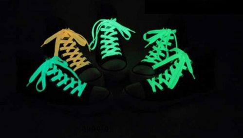 Lacets luminescents x3 paires